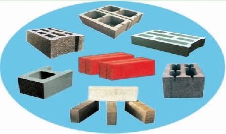 Brief steps of making bricks by brick machine